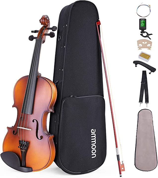 Violino ammoon con custodia di trasporto FYG1478597390084HH