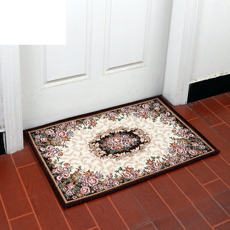 European Carpet Door Mats Indoor Mats Floor Mat Indoor Mats Foyer Entrance Mats Bathroom Non-Slip Mats-E 90x140cm(35x55inch)