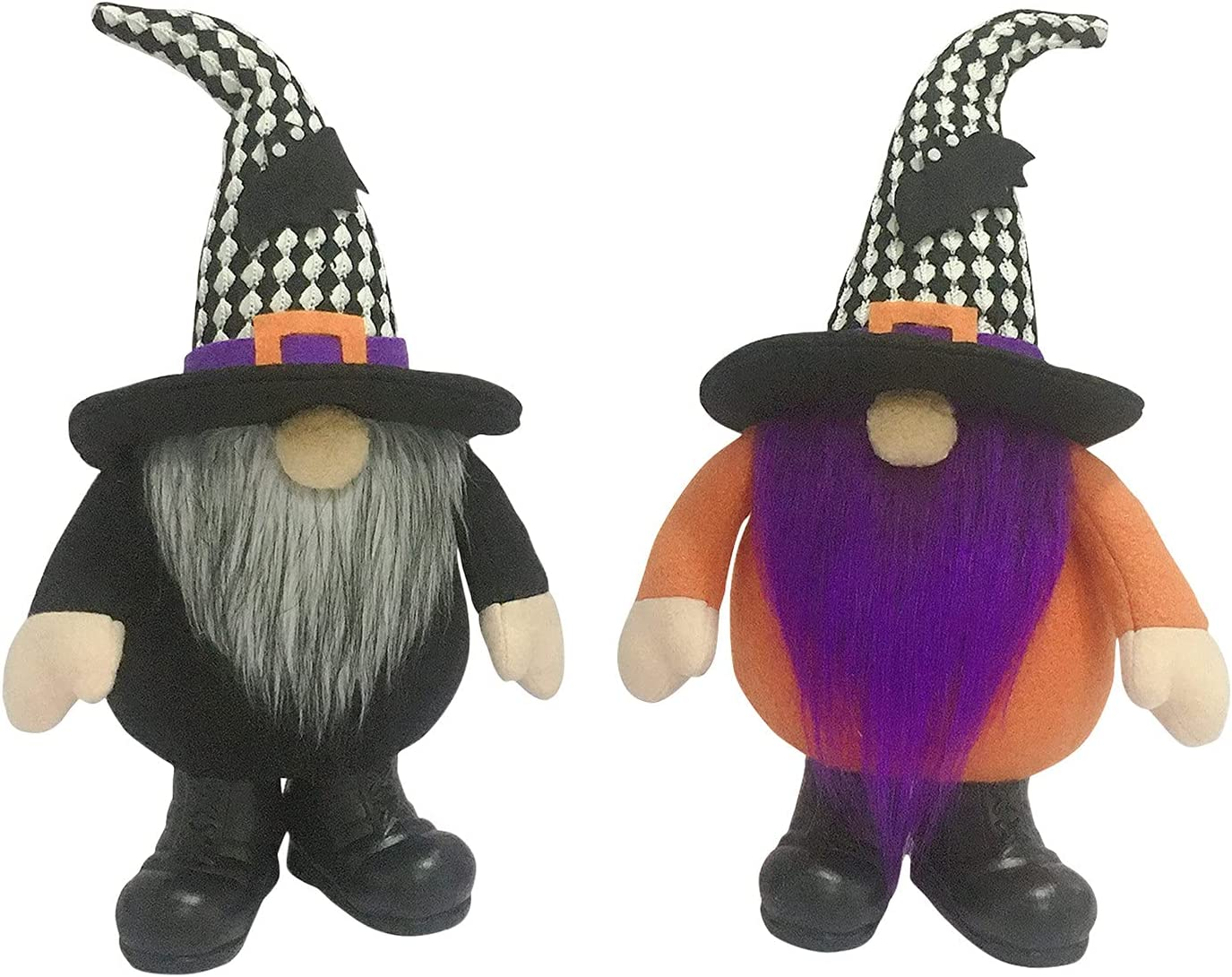Super-cheap 2Pcs Halloween Gnome Plush Decoration Swedish Fall Faceless Seasonal Wrap Introduction Doll