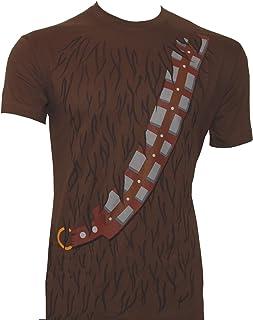 Star Wars Camiseta Chewbacca con correa, color marrón