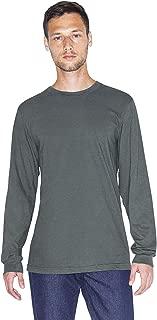 Men's Fine Jersey Crewneck Long Sleeve T-Shirt