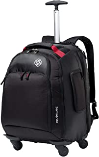 Luggage Mvs Spinner Backpack, Black