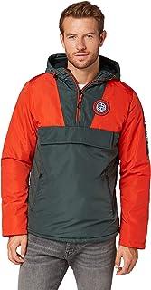 TOM TAILOR Men's windbreaker jacket with hood.