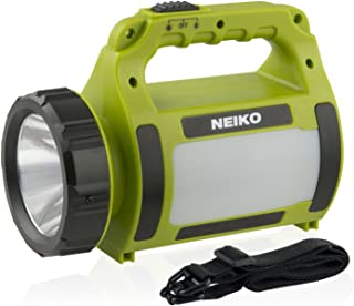 Neiko 40475A Rechargeable Emergency Spot Light, 300 Lumens | Device Charging Port | CREE LED Spotlight with Triple Function