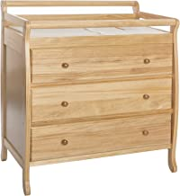 Dream On Me Liberty Collection 3 Drawer Changing Table, Natural