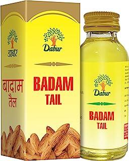 Dabur Badam Tail : SweetAlmond Oil   Rich in Vitamin -E for Healthy Skin , Hair and Body - 100ml