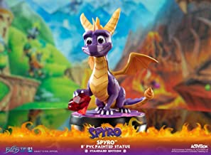 Activision 5060316621783 Spyro The Dragon PVC Statue, Multicolour