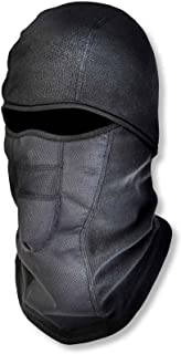 Ergodyne N-Ferno 6823 Winter Ski Mask Balaclava, Wind-Resistant Face Mask, Thermal Fleece, Black