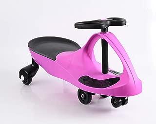 Apelila Wiggle Car Twistcar Roller Ride On Play Swing Vehicle Outdoor, for Kid Child (Purple 2)