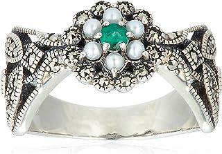 [ROKUZAN] ROKUZAN 银色 祖母珍珠 戒指