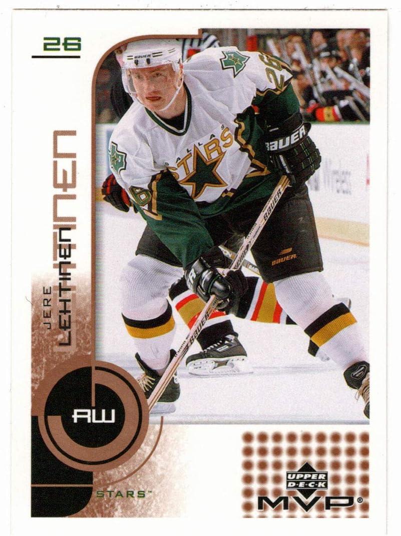 New York security Mall Jere Lehtinen - Dallas Stars Hockey Card 2002-03 MV Deck Upper