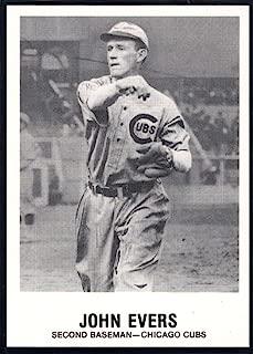 Baseball MLB 1977-84 Galasso Glossy Greats #159 Johnny Evers Cubs