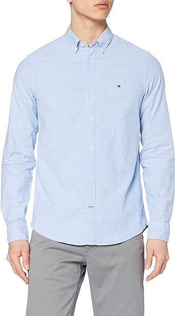 Tommy Hilfiger Core Stretch Slim Oxford Shirt Camisa para Hombre