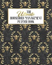 The Ultimate Household Management Planner Book: Honey Hunters Bee Badger | Home Tracker | Family Record | Calendar | Contacts | Password | School | ... Babysitter | Goals Financial Budget Expense