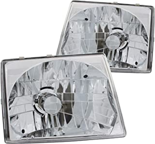 Anzo USA 121132 Toyota Tacoma Crystal Chrome Headlight Assembly - (Sold in Pairs)