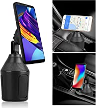 Linkstyle Car Cup Holder Magnetic Phone Mount, Cup Holder Magnetic Phone Car Mount Holder, Adjustable Cup Holder Mount Compatible with iPhone X/Xs Max/ 8 Plus, Samsung Galaxy S10/ S9 /S8/ Note 9