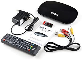 iDOO Set Top Box TV Box Converter Box, TV Converter Box for Analog TV with HDMI Out Coaxial Out AV Output Composite O...