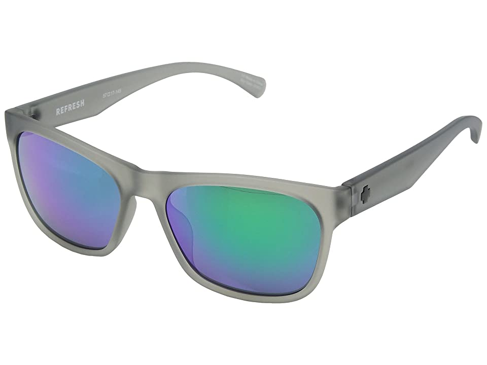 Spy Optic Sundowner (Matte Translucent Smoke/Gray/Green Spectra) Sport Sunglasses