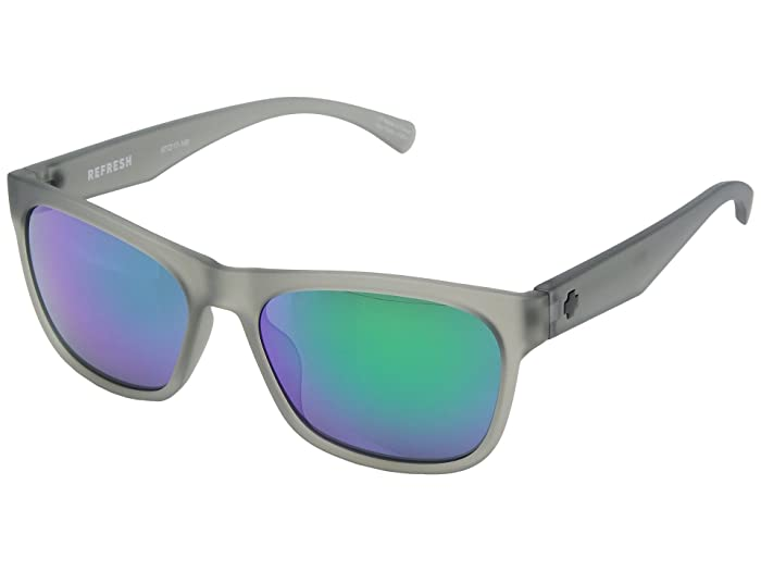 Spy Optic Sundowner (Matte Translucent Smoke/Gray/Green Spectra) Sport Sunglasses