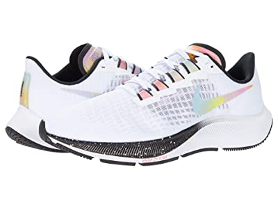 Nike Air Zoom Pegasus 37 (White/Multicolor/Black/Flash Crimson) Men