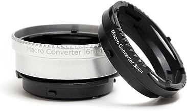 Lensbaby Macro Converters - 8mm Converter and 16mm Converter (LBMC)