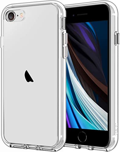 JETech Case for iPhone SE 2nd Generation, iPhone 8 and iPhone 7, 4.7-Inch, Shockproof Bumper Cover, Anti-Scratch Clea...
