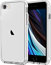 JETech Case for iPhone SE 2020 2nd Generation, iPhone 8 and iPhone 7, 4.7-Inch, Shockproof Bumper Cover, Anti-Scratch Clear Back (HD Clear)
