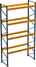 Palletrek voor zware lasten, 19,50 m x 3,50 m (l x h), 7 veld/rek van 1850 kg met 105 stelplaatsen