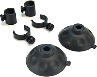 Fluval Suction Cups, (4) 4x12 mm and clips, (8) 4x14 mm (03, 04 and 05 Series)