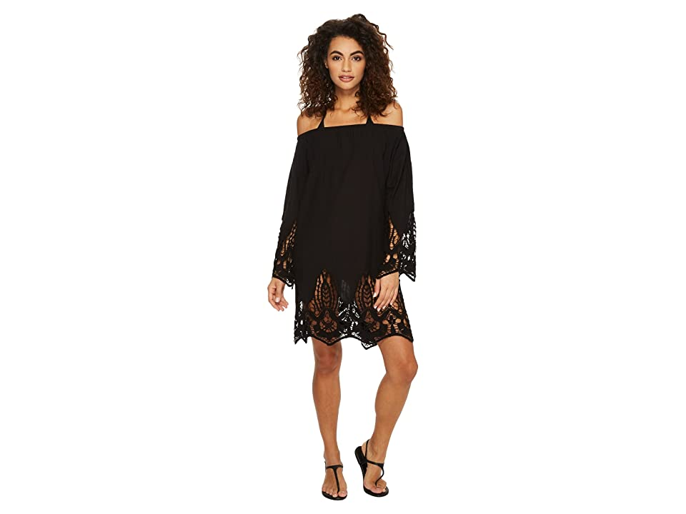 Athena Mystique Off the Shoulder Tunic (Black) Women