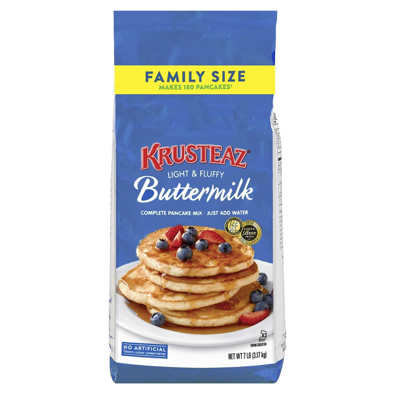 Krusteaz Complete Buttermilk Pancake Mix Single 7-Pound Finally popular New Shipping Free Shipping brand Un Bag