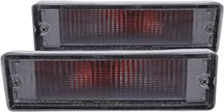 Anzo USA 511016 Nissan Chrome w/Amber Reflectors Bumper Light Assembly - (Sold in Pairs)