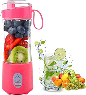 AIKIDS Portable Blender Juicer - 13.5 Oz Personal Size Blenders for Smoothies and Shakes, Stronger and Faster Mini Fruit Mixi