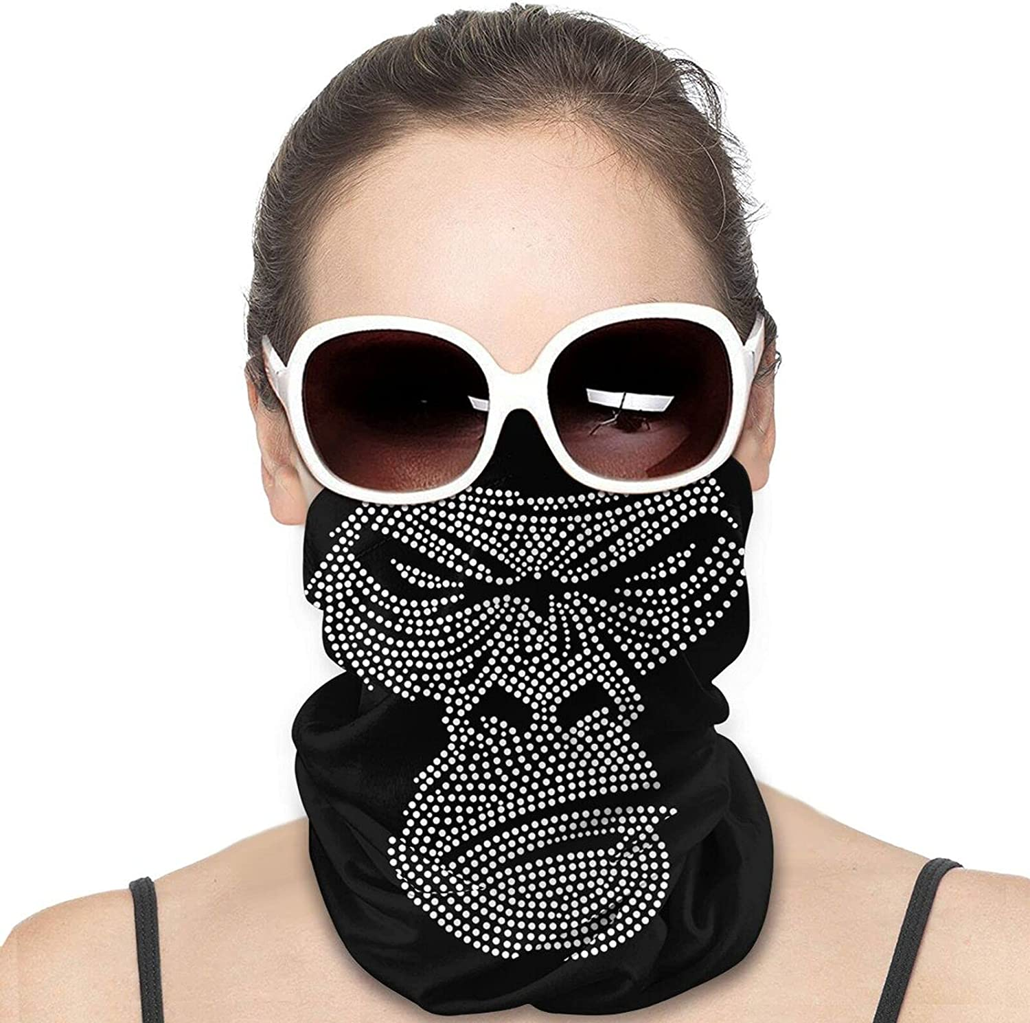 Gorilla Face Round Neck Gaiter Bandnas Face Cover Uv Protection Prevent bask in Ice Scarf Headbands Perfect for Motorcycle Cycling Running Festival Raves Outdoors