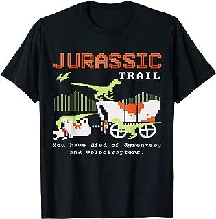 Best jurassic trail shirt Reviews
