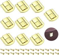 """""""10 Stuks Metalen Kliksluiting Hasps Latch Lock Box Lock Antiek Sluitingen Van Houten Kisten Antiek Kistslot voor Juwelend..."""