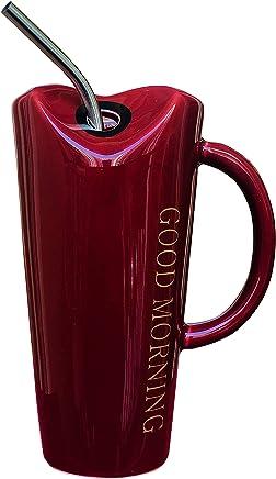 8f707817ebb Saanveria Premium Quality Exclusive Good Morning Printed Ceramic Coffee/Milk/Shake  Mug with Metal
