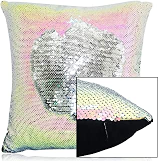 Best iridescent sequin pillow Reviews