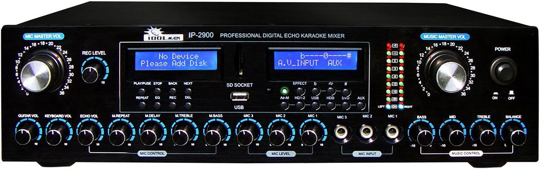 IDOLMain IP-2900 Professional Digital 67% OFF of fixed price Karaoke Vocal Enh Mixer w Long Beach Mall