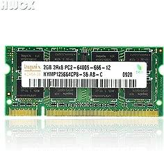 HYNIX 2GB DDR2 PC2-6400 Laptop Memory Modules (200-pin SODIMM, 800MHz)