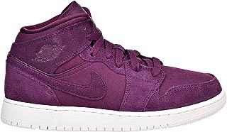 Jordan Retro 1 Mid Basketball Girl's Shoes Size