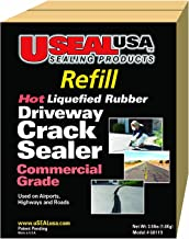 Useal USA Hot Liqufied Rubber, Driveway Crack Sealer (Refill), #68119