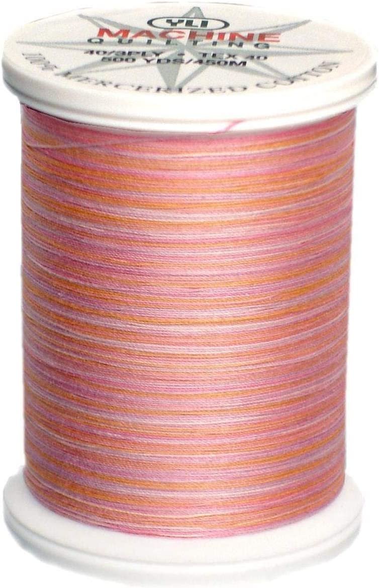 Rare YLI 24450-V74 3-Ply 40wt T-40 Variegated Thread Cotton Quilting Today's only