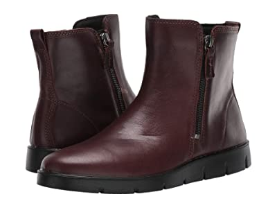 ECCO Bella Zip Boot (Mink Cow Leather) Women