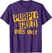 Purple & Gold Game Day Group Shirt for High School Football T-Shirt