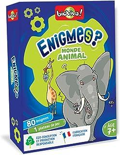 Bioviva Riddles Enigmas- Animal World Card Game