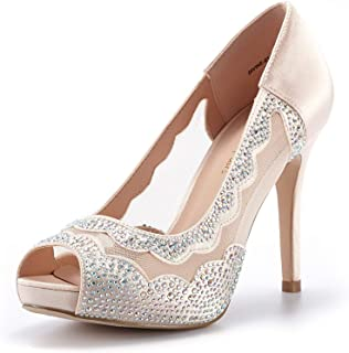Women's Divine-01 High Heels Dress Pump Shoes