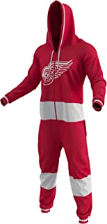 On Sale Detroit Red Wings Ice Hockey Sockey Team Color Logo NHL Licensed Onesies Fan Apparel