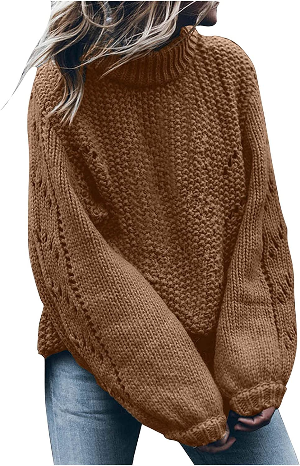 High Neck Sweaters for Women Turtleneck Max 86% OFF Knit Lightweight Limited time cheap sale Winter