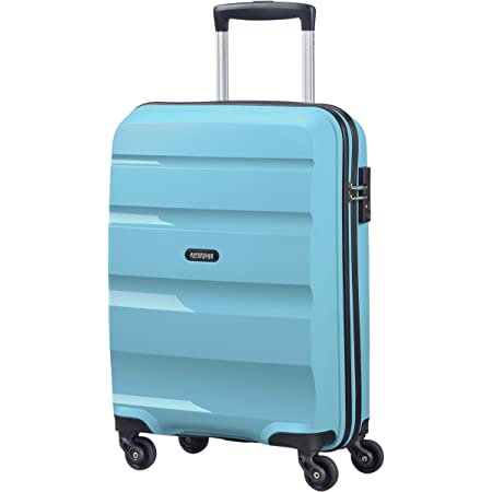 American Tourister Bon Air - Spinner Small Strict Bagage cabine, 55 cm, 31.5 liters, Bleu (Blue Topaz)